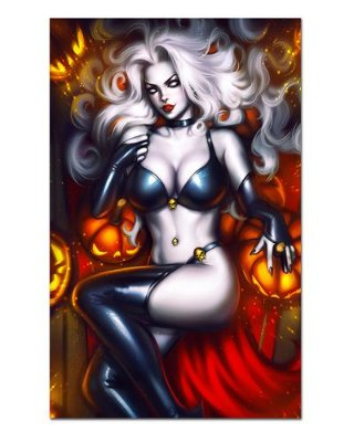 Ímã Decorativo Lady Death - ITE17