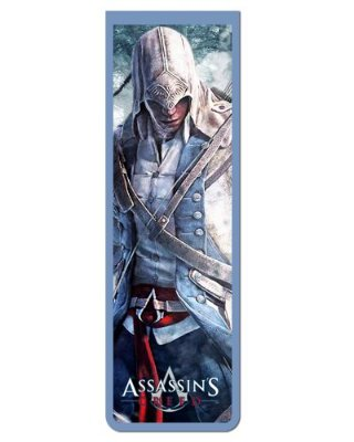 Marcador De Página Magnético Connor - Assassin's Creed - AC35