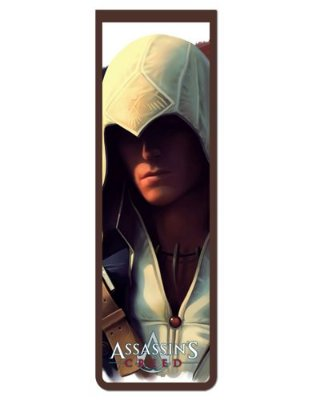 Marcador De Página Magnético Connor - Assassin's Creed - AC43