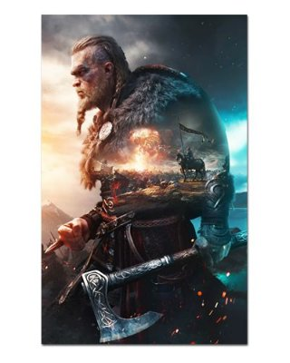 Ímã Decorativo Eivor - Assassin's Creed - IAC37