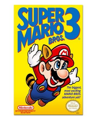 Ímã Decorativo Capa de Game - Super Mario Bros 3 - ICG29