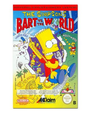 Ímã Decorativo Capa de Game - The Simpsons - ICG30