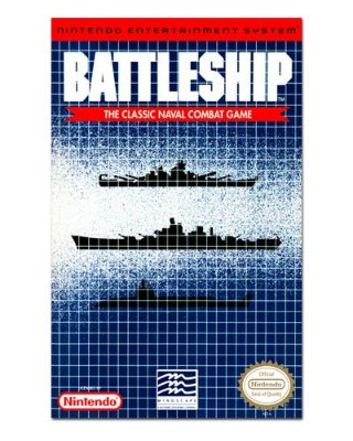 Ímã Decorativo Capa de Game - Battleship - ICG31