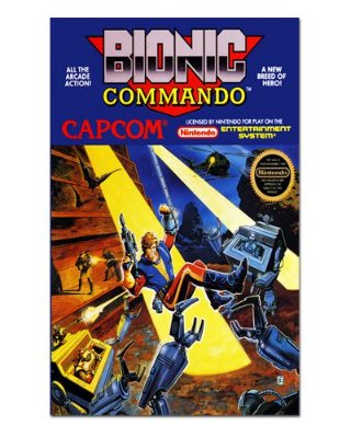 Ímã Decorativo Capa de Game - Bionic Commando - ICG33