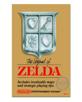 Ímã Decorativo Capa de Game - The Legend of Zelda - ICG36