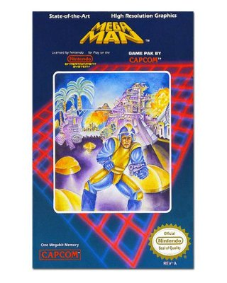 Ímã Decorativo Capa de Game - Mega Man - ICG37