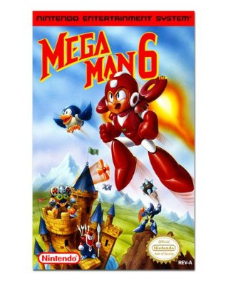 Ímã Decorativo Capa de Game - Mega Man 6 - ICG39