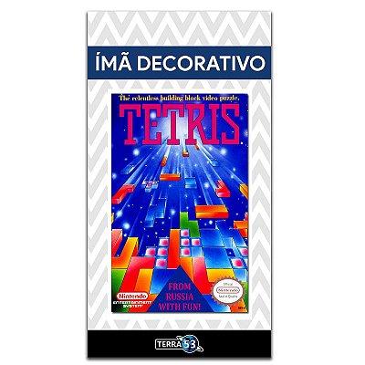 Ímã Decorativo Capa de Game - Tetris - ICG40