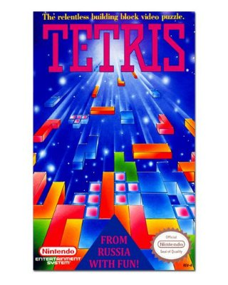 Ímã Decorativo Capa de Game - Tetris - ICG40
