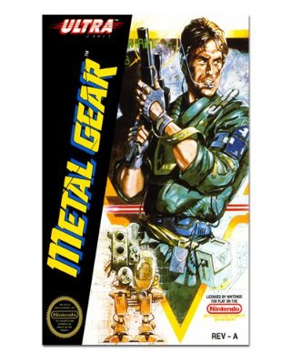 Ímã Decorativo Capa de Game - Metal Gear - ICG41