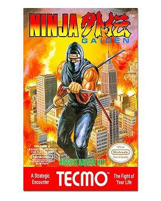 Ímã Decorativo Capa de Game - Ninja Gaiden - ICG44
