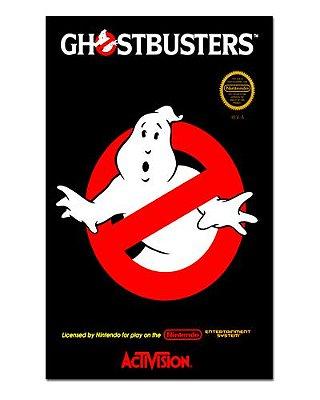 Ímã Decorativo Capa de Game - Os Caça-Fantasmas - ICG45