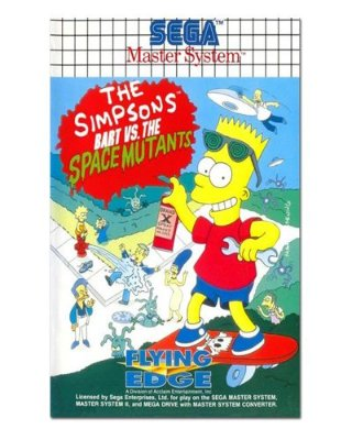 Ímã Decorativo Capa de Game - The Simpsons - ICG57
