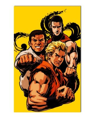 Ímã Decorativo The King of Fighters - IGA55