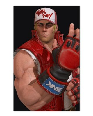 Ímã Decorativo Terry Bogard - The King of Fighters - IGA63