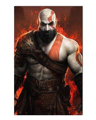 Ímã Decorativo Kratos - God of War - IGA46