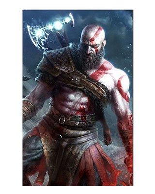 Ímã Decorativo Kratos - God of War - IGA47