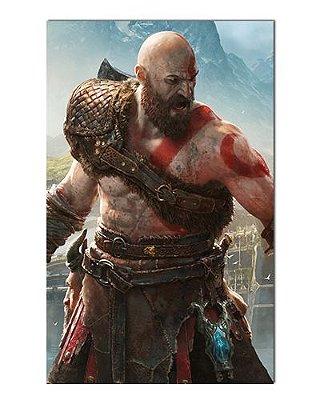 Ímã Decorativo Kratos - God of War - IGA49