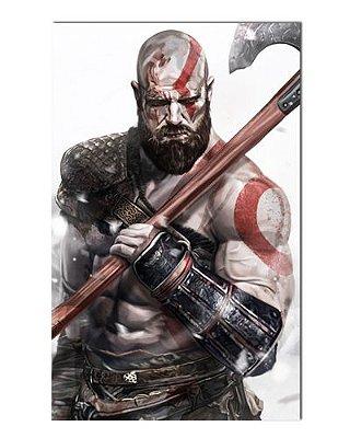 Ímã Decorativo Kratos - God of War - IGA51