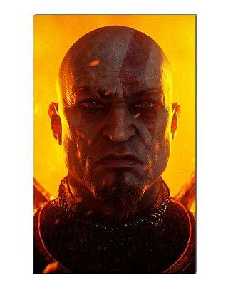 Ímã Decorativo Kratos - God of War - IGA52