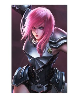 Ímã Decorativo Lightning - Final Fantasy - IGA98
