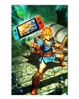 Ímã Decorativo Link - The Legend of Zelda - IGA138