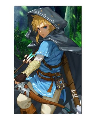 Ímã Decorativo Link - The Legend of Zelda - IGA147