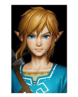Ímã Decorativo Link - The Legend of Zelda - IGA148