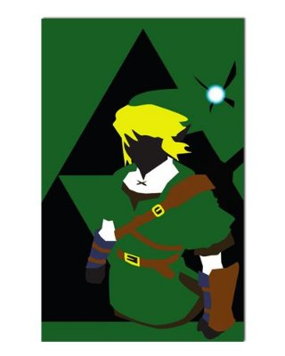 Ímã Decorativo Link - The Legend of Zelda - IGA149