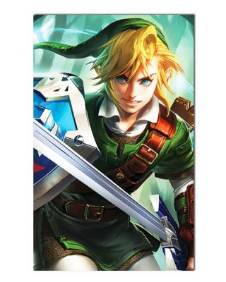 Ímã Decorativo Link - The Legend of Zelda - IGA150
