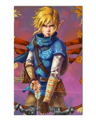 Ímã Decorativo Link - The Legend of Zelda - IGA151