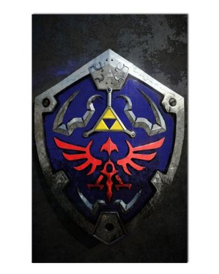 Ímã Decorativo Escudo Triforce - The Legend of Zelda - IGA153