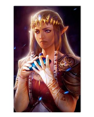 Ímã Decorativo Princesa Zelda - The Legend of Zelda - IGA155