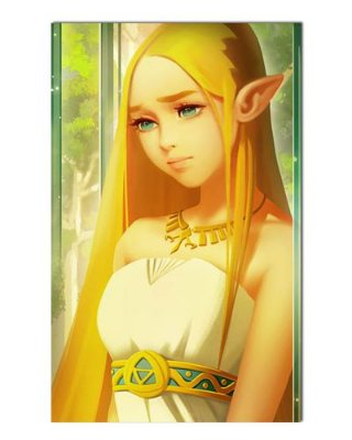 Ímã Decorativo Princesa Zelda - The Legend of Zelda - IGA169