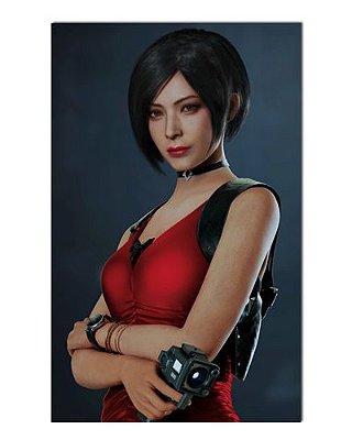 Ímã Decorativo Ada Wong - Resident Evil - IGA136