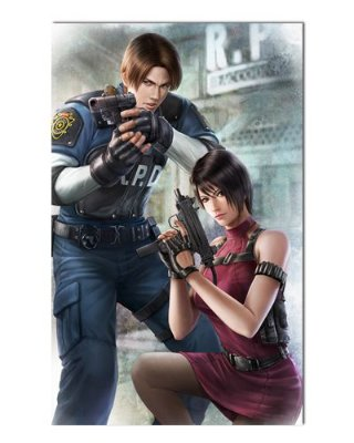 Ímã Decorativo Ada e Leon - Resident Evil - IGA128