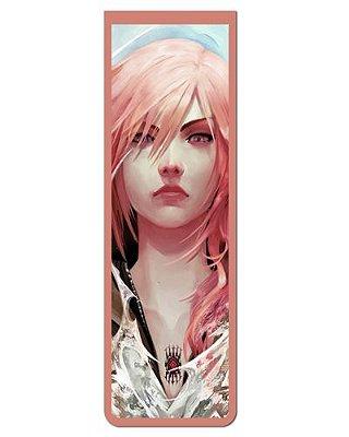 Marcador De Página Magnético Lightning - Final Fantasy - MGA80