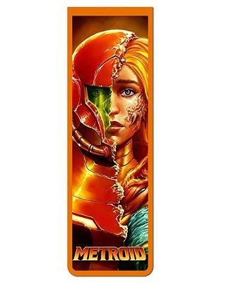 Marcador De Página Magnético Samus Aran - Metroid - MGA88