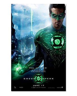 Ímã Decorativo Pôster Green Lantern - IPF103
