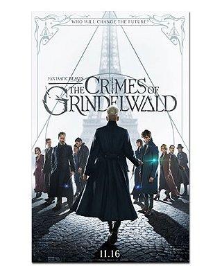Ímã Decorativo Pôster Os Crimes de Grindelwald - IPF115