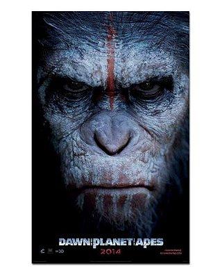 Ímã Decorativo Pôster Planeta dos Macacos 2 - IPF128