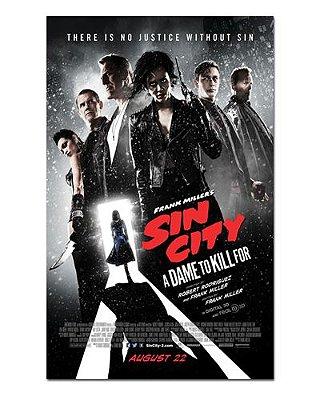 Ímã Decorativo Pôster Sin City 2 - IPF222