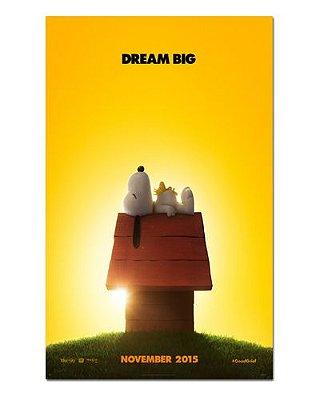 Ímã Decorativo Pôster Snoopy e Charlie Brown - IPF243
