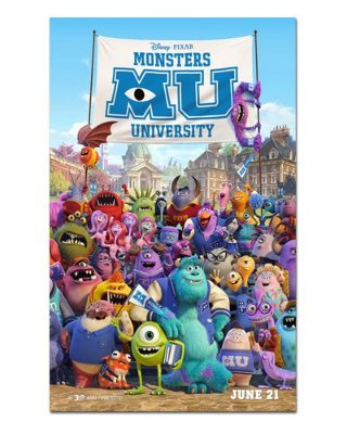 Ímã Decorativo Pôster Monsters University - IPF249