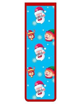 Marcador De Página Magnético Papai Noel - Natal - MNA16
