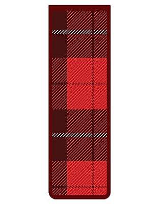 Marcador De Página Magnético Tartan - Cute - MNA24