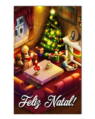 Ímã Decorativo Feliz Natal - Natal - INT01