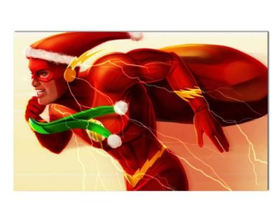 Ímã Decorativo The Flash - Natal - INT26