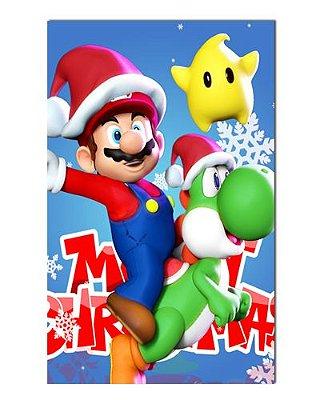 Ímã Decorativo Super Mario - Natal - INT23