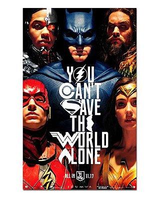 Ímã Decorativo Pôster Justice League - IPF276